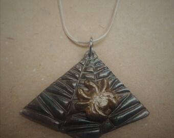Night Spider Necklace