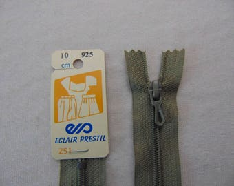 Zip closure, nylon, Greige (Z51 925)