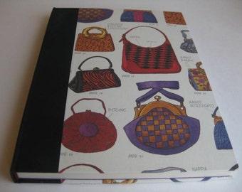Guest Book Diary Vintage Handbound Journal  Women