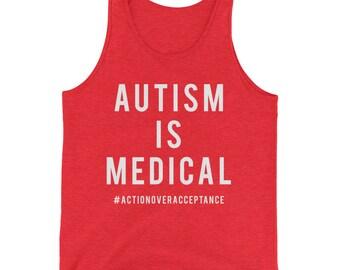 Autism is Medical Men's Tank Top