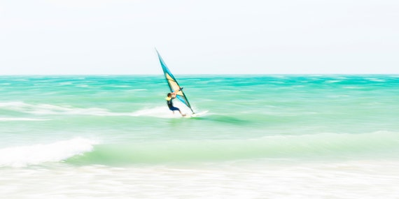 TARIFA SURFING. Windsurfing Print, Watersport Picture, Tarifa, Sports, Photographic Print