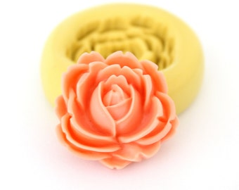Flower Mold   Clay      Silicone Mold fondant mold resin mold
