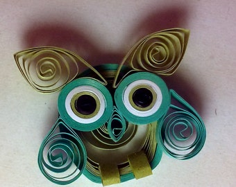 Paper Quilled Owl