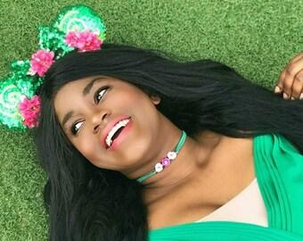 Te Fiti inspired choker, disney necklace, disney choker, disney jewelry, disney Princesses, cosplay