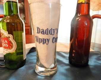 """Beer Glass """"Daddy's Sippy Cup"""""""