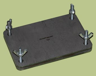 Rectangular Mold Holder for Toaster Oven Rubber Molds, Mold Making Tool, Casting Tools, Jewelry Making Tool, Casting Equipment