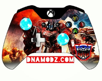 Custom [Optimus Prime G1] Transformers themed Xboxone Controller 10 dollars off use code DNADOM10 at checkout.