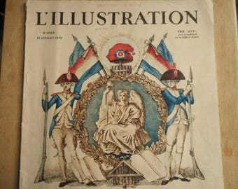 Vintage 1939  L'Illustration French Magazine No.5028