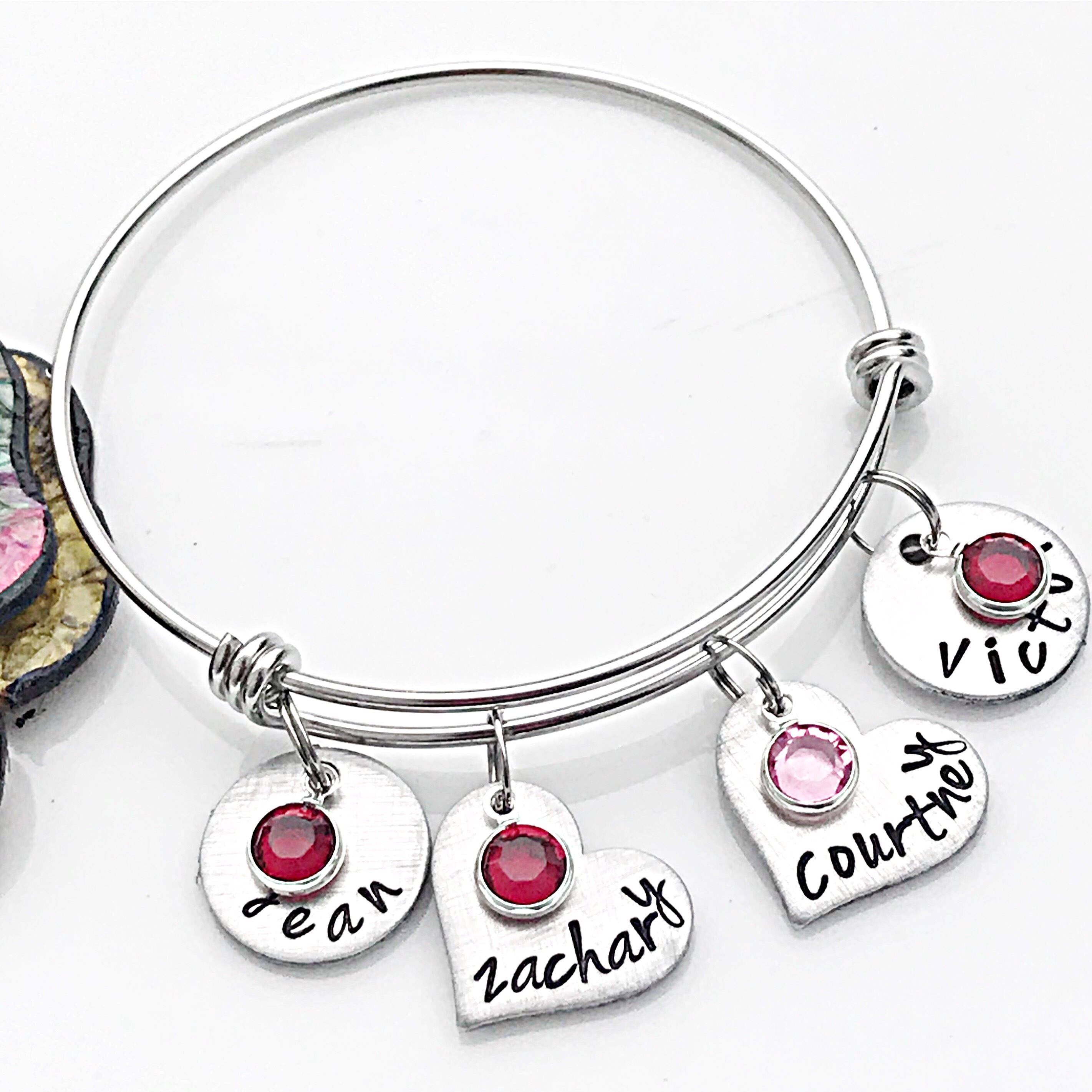 grandchild stories bracelet our charm your the story golden