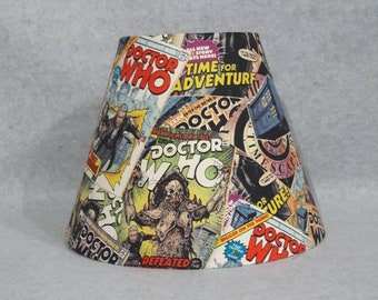 Dr. Who Lamp Shade.