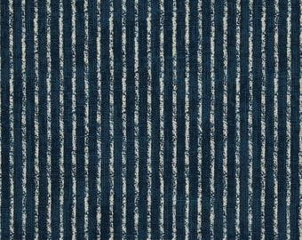 Skyfall Navy, Magnolia Home Fashions - Cotton Upholstery Fabric By The Yard