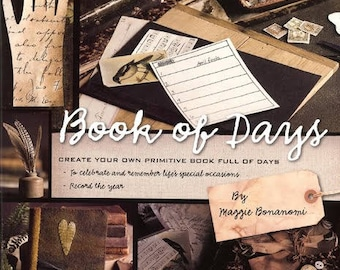Book of Days by Maggie Bonanomi - Journal project book - OOP/New Old Stock