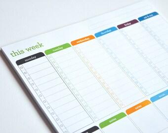 Printable | Weekly Planner