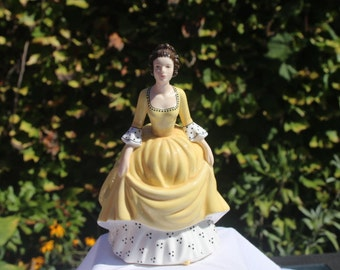 Coralie from series Pretty Ladies, Beautiful, Decorative Collectible Royal Doulton Figurine .