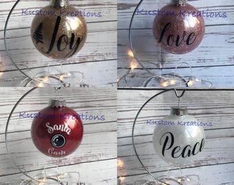 Custom Ornaments personalized