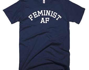 Feminist AF Shirt // Feminism T Shirt // Women's Rights Shirt // Inspirational Shirt // Gender Equality Tee // Equality Short-Sleeve T-Shirt