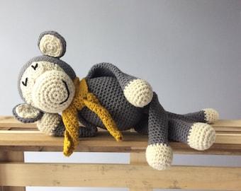Crochet Monkey, Handmade Amigurumi, Monkey Amigurumi, Crochet Toy, Baby Gift.