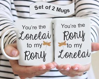 Custom Lorelai to my Rory, Rory to my Lorelai, Gilmore Girls Coffee Mug, Gilmore Girls Mug, Gilmore Girls, Mothers Gift, Friend Mug, BFF Mug