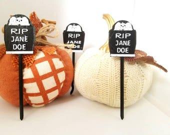 Creepy Halloween Picks-Personalization
