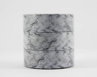 Washi tape grey marble masking tape