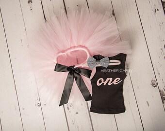 Pink Baby Girl 1st Birthday Outfit | Baby Tutu | Tutu Dress | Birthday Dress | Baby Girls Cake Smash Outfits | Birthday Tutu