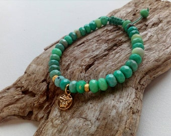 Bracelet dégradé de vert