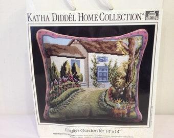 English Garden Needlepoint Kit, Erica Wilson
