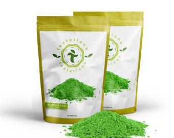 Japanese Matcha Green Tea Powder - Ceremonial Grade Matcha - Gift For Matcha Lover - 100g Resealable Bag