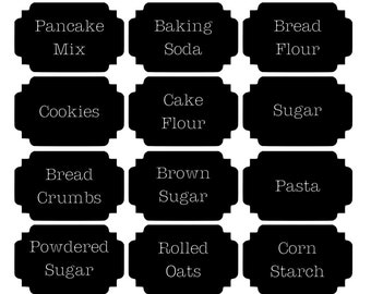 Kitchen Pantry Labels *you choose* *ships free*