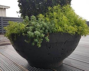 Outdoors flower pots