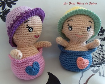 Bobby and Babette crochet