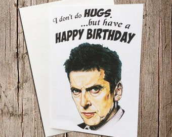 The 12th Doctor birthday card