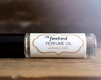 Almond Milk Perfume Oil, Almond, Vanilla, Musk, Roll On Perfume