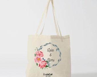 W3Y Tote bag custom wedding, Bridesmaid bags, Wedding Bags, Bridal Pary Gifts, Personalized Handbags, Bridesmaid Gifts,  by atelier des amis