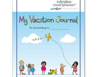 Kid's Travel Journal ,  My Vacation Journal from 4 years: Lightweight, 7 Day Children's Travel Journal, Helping to create memories