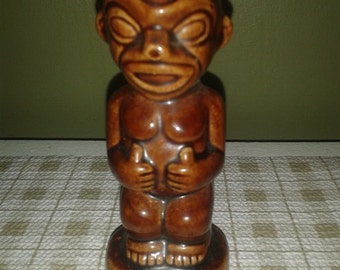 Vintage Kon Tiki Ports Steve Crane Pepper Tiki God