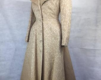 Vintage 1940s 1950s princess coat liliann
