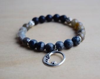New Moon Bracelet / boho bracelet ideas, moon phase, wife magical jewelry, good vibes only, yoga jewelry women, everyday bracelet, group 3