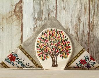 Napkin Holder | Sponge Holder | Home Gift | Ceramics and Pottery