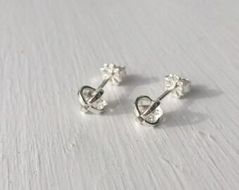 Herkimer Diamond Earrings - Sterling Silver