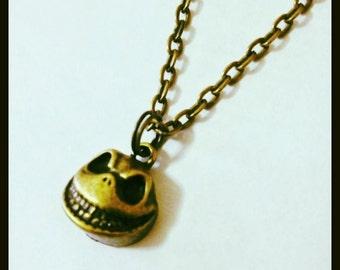 Jack Skellington Unisex Necklace, A nightmare Before Christmas, Tim Burton