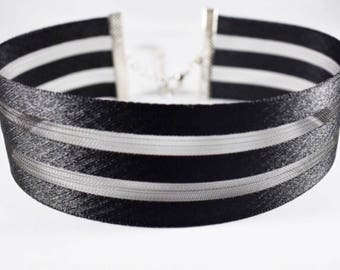 NOIR CHOKER, Choker Necklace, Black Choker Necklace