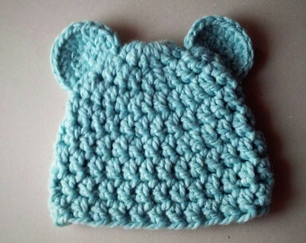 toddler crochet hat , winter hat , chunky crochet hat