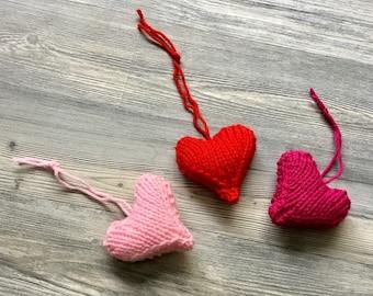 3 Valentine hearts