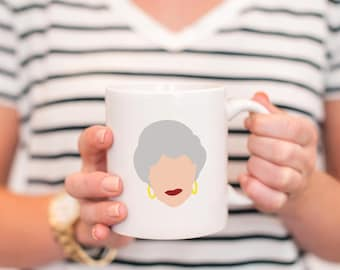 golden girls mug - golden girls show - golden girls coffee mug - thank you for being a friend - dorothy in the streets - golden girls tv