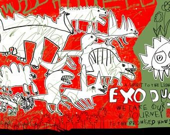 Dinosaurs & Me, Exodus