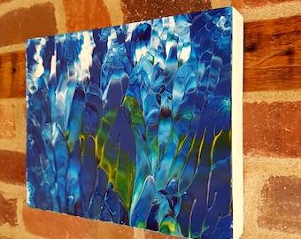 Deep Sea Abstract Acrylic Original Painting