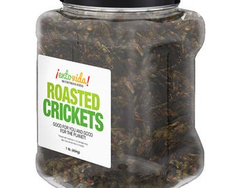 Edible Insects   Pound of Roasted Crickets