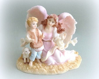 Seraphim Collectible Angel Figurine Angel Art Christmas Angel Decor Angel Decoration Angel Sculpture Angel Figure Christmas Gift Under 30