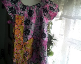 Pure cotton Children's handmade dress, new
